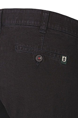 Club of Comfort - Herren Jeans Hose in verschiedenen Farbvarianten, Dallas (4631) Schwarz (10)