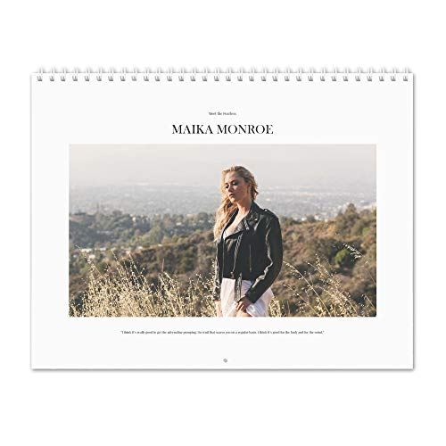 Maika Monroe - Meet the Fearless 2020 Wandkalender