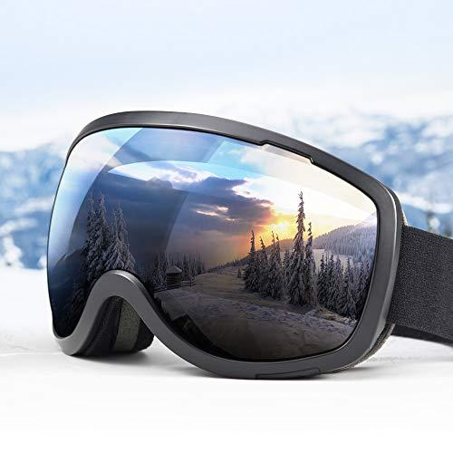 Elegear Skibrille Anti-Fog Snowboard Brille Ski Goggles für Herren Damen