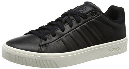 K-Swiss Court Cheswick SDE, Zapatillas para Hombre, Negro (Black/White), 47 EU