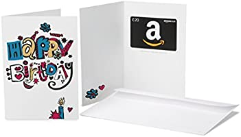 Amazon.co.uk Gift Card - In a Greeting Card - £20 (Birthday Doodle)