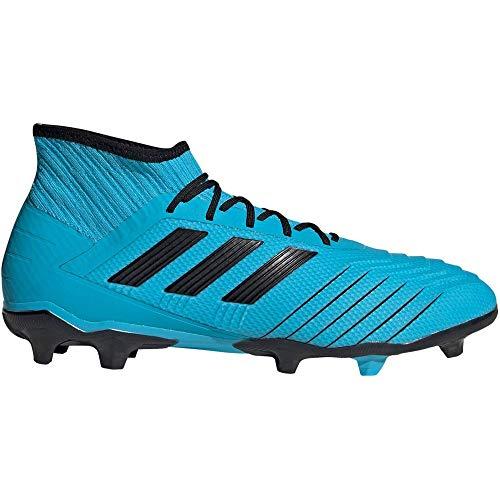 adidas Performance Predator 19.2 FG Fußballschuh Herren hellblau/schwarz, 8.5 UK - 42 2/3 EU - 9 US