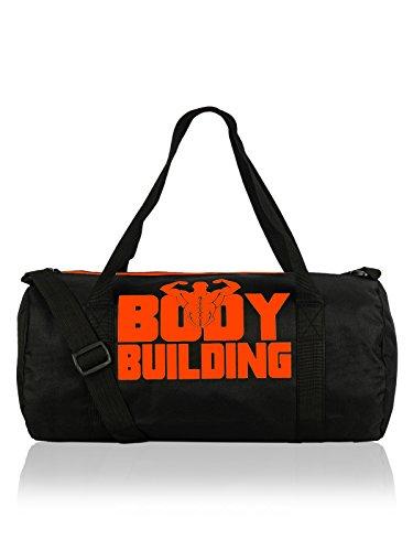 AWG Sport 10 litres Premium Black Duffle Gym Bag