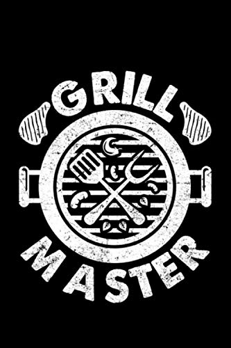 Grill Master: Lined A5 Notebook for Meat and animals Journal