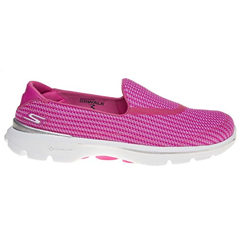Bild von Skechers Go Walk 3 Damen 13980 Schwarz BKW Running Sneaker