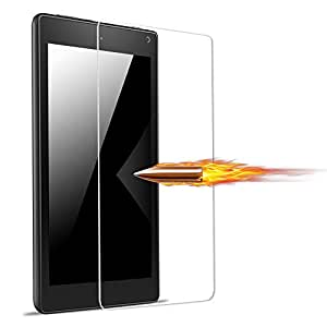 Fintie Nano Explosion Proof Screen Protector for Fire HD 8 - Super Thin High Definition [6H Hardness] Extremely Smooth for Amazon Fire HD 8 Tablet(5th Generation 2015 / All-New 6th Generation 2016)