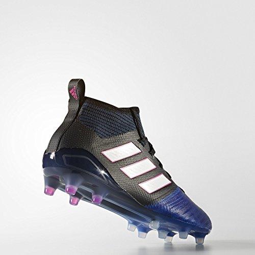 adidas Ace 17.1 Primeknit Fg, Scarpe per Allenamento Calcio Uomo Nero (Negbas/Ftwbla/Azul)