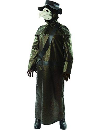 Erwachsener Herren Mittelalterlichen Pest Doktor Halloween Kostüm (Mittelalterliche Doktor Kostüm Pest)