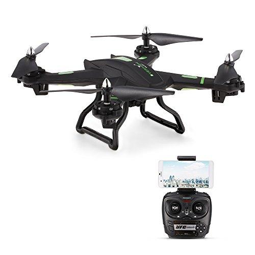 Goolsky S5W 2.0MP Cámara Wifi FPV Tracker Drone 2.4G Giro de 6...