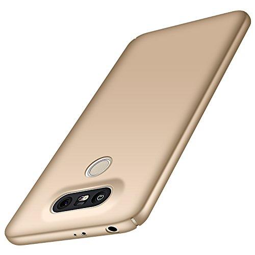 Anccer LG G5 Hülle, [Bunte Serie] [Ultra dünn] Ultimative Schutz vor Stürzen und Stößen - [Luxurious Look] Schutzhülle für LG G5 Case, LG G5 Cover (Glattes Gold)