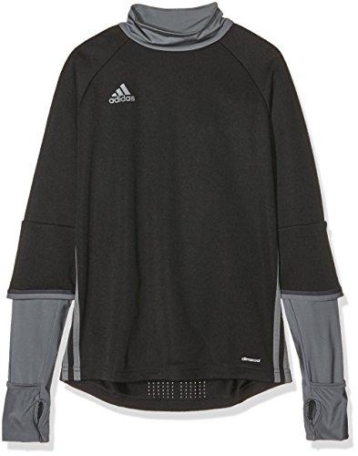 adidas Children s Sweatshirt Condivo 16 Training Top   Black - Black Vista Grey  9-10 Years  Manufacturer Size  140
