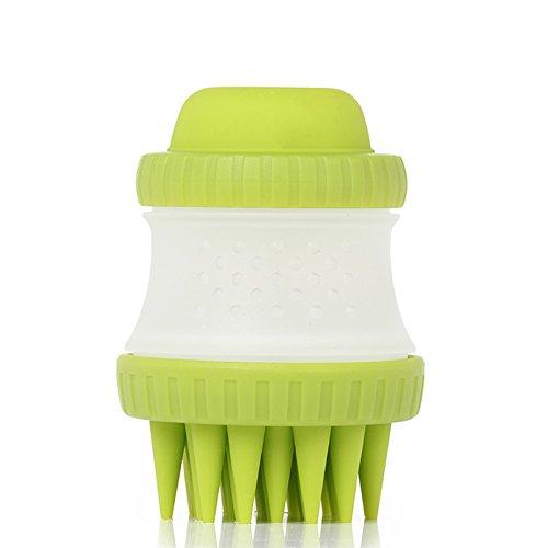 Grooming Wax (Nclon Kautschuk Grooming Pinsel Und Pet Shampoo Pinsel Für Grooming,Unsere Ergonomische Design Leicht Passt Ihre HUnd -A)