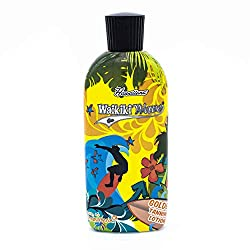 Hawaiiana Waikiki Wave - Golden Tanning Lotion, 1er Pack (1 x 200 ml)