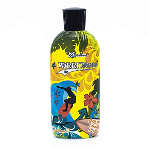 Hawaiiana Waikiki Wave - Golden Tanning Lotion, 1er Pack (1 x 200 ml) - Hawaiian Wave