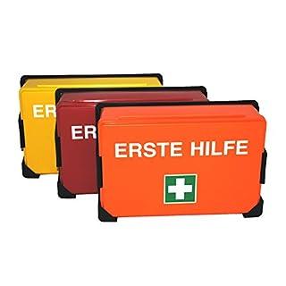 Erste Hilfe Koffer K-04, ohne Inhalt, Farbe nach Wahl - Verbandskasten (Orange)