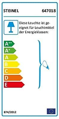 Steinel 647018 Sensor-Pollerleuchte, Wegeleuchte, Bewegungsmelder mit Sensortechnik, energieeffizient, 3x40W, IP44, Edelstahl von Steinel auf Lampenhans.de