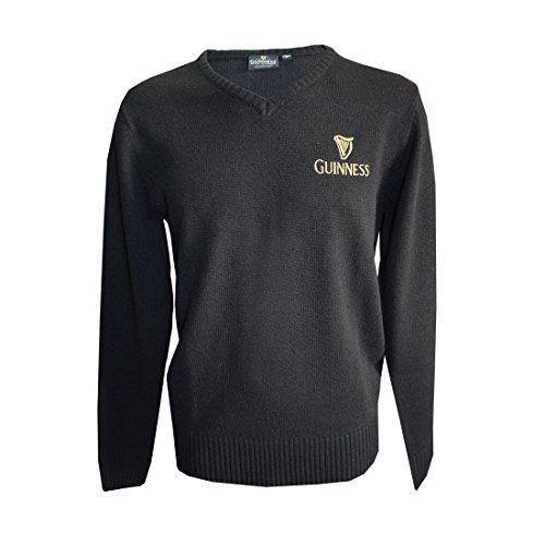 guinness-official-merchandise-pull-homme-noir-noir