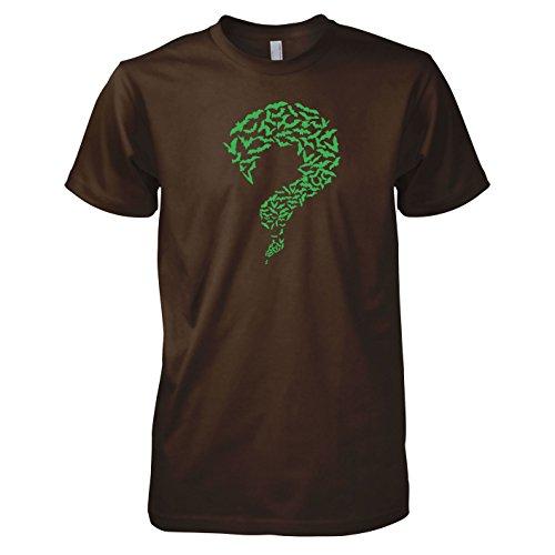 TEXLAB - TBBT: Riddler Bats Green Edition - Herren T-Shirt Braun