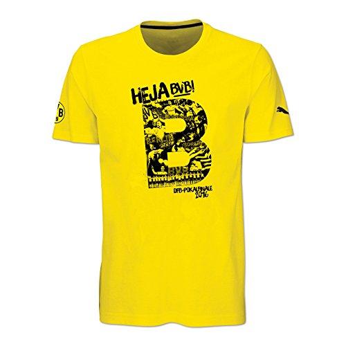 BVB-T-Shirt Zum DFB-Pokalfinale 2016 M