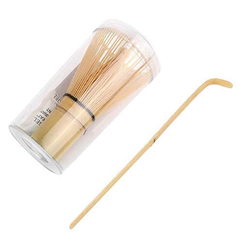 Ljlpropyh Ei-Werkzeuge Bamboo Matcha Making Set Schneebesen Hooked Bamboo Scoop Chashaku Matcha Teebesen