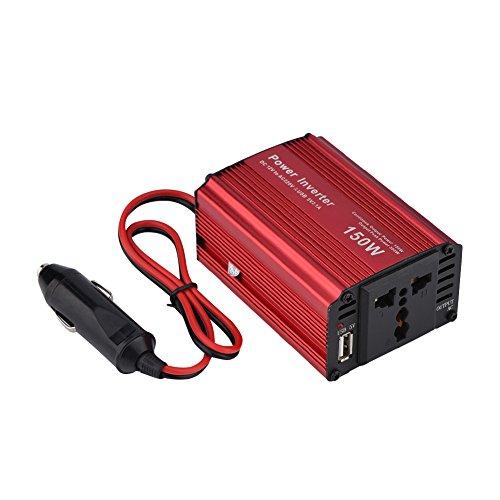 Fosa 150 Watt Auto Power Inverter DC 12 V zu 220 V AC Konverter Wechselrichter Kfz Stecker USB 5 V 2100mA Ladegerät mit - Betrieb Leben Solide
