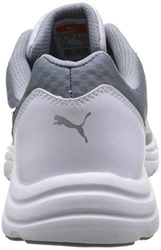 Puma Expedite, Chaussures de sports extérieurs homme Blanc (White/Gy/Red)