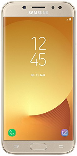 Samsung Galaxy J5 DUOS Smartphone (13,18 cm (5,2 Zoll) Touch-Display, 16 GB Speicher, Android 7.0) gold