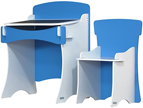 Kidsaw Kinder Desk and Chair (Blue)
