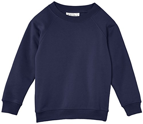 Trutex Limited Unisex, Sweatshirt, 260G Crew Neck Blau (Navy)