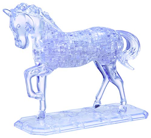 HCM Kinzel 9001 - Crystal Puzzle: Große Crystal Puzzle - Pferd (3d Crystal Puzzle Pferd)