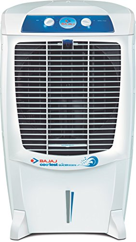 Bajaj Glacier DC2016 67-Litre Room Cooler (White)  available at amazon for Rs.8999