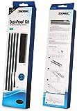 #9: PS4 Pro Dust Proof Kit Prevent Cover Case Stopper Pack for Sony PS4 Pro (Black)