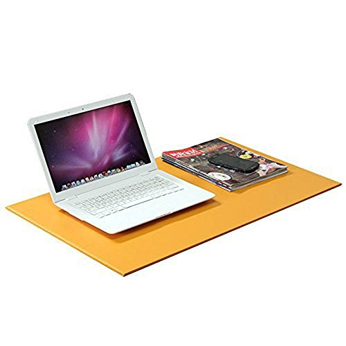 hensych-pu-leather-desk-mat-mate-24-x-16-desk-pad-protector-mouse-pad-for-desktops-and-laptops-orang