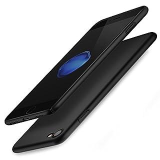 Arktis Hülle für iPhone 7 / iPhone 8 UltraSlim Hardcase Cover - Schwarz
