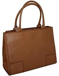 91ef9978046 Tory Burch Ella Large Canvas Tote Handbag BARK