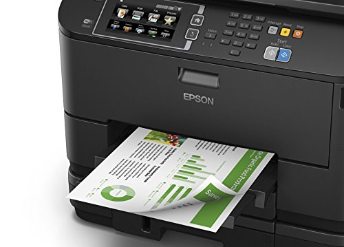 Epson WorkForce WF-4640DTWF Pro 4-in-1 Business Inkjet Printer - Black