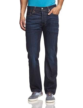 Levi 39 s homme 501 original straight fit jeans bleu blue for Bureau en gros levis