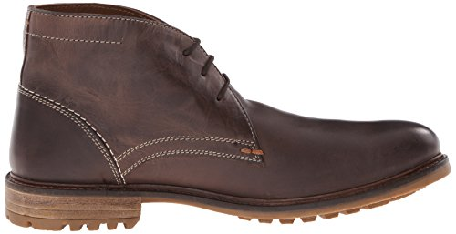 Hush Puppies - Benson Rigby, Stivale da uomo Dark Brown