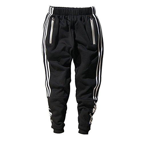 Minetom Uomo Cappuccio Maglione Moda Hip Hop Streetwear Felpa Sport Hoodies  Con Sportivi Casual Danza Pantaloni Allenamento Running Jogging Pantaloni  ... 22ce10678f9