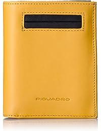 Piquadro  Monedero PU1740S80/G, Amarillo