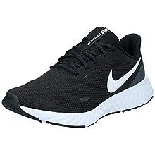 Nike Revolution 5, Scarpe da Corsa Mens, Nero/Bianco, 42 EU