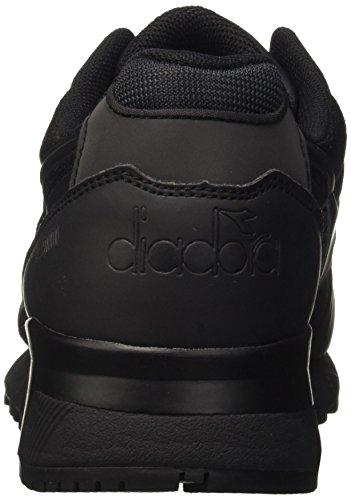 Diadora N9000 Mm Ii, Pompes à plateforme plate homme Noir