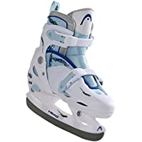 Head Schlittschuhe Cool Girl Adjustable - Patines de patinaje sobre hielo multicolor blanco, azul Talla:34-37