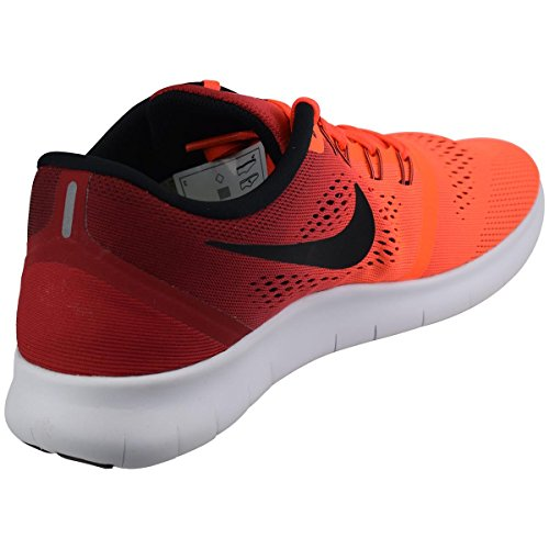 Nike WMNS Free RN rot Damen Laufschuh (Sneakers) mit Socken Rot