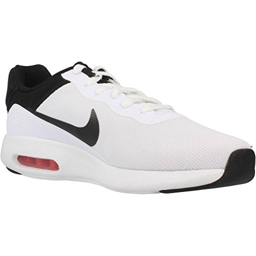 Basket, couleur Blanc , marque NIKE, modÚle Basket NIKE AIR MAX MODERN ESSENTIAL Blanc Multicolore (Blanco / Negro)