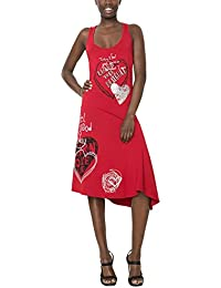 Desigual VEST_ALEXANDRA-vestido Mujer