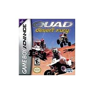 Quad Desert Fury – Game Boy Advance (Englisch)