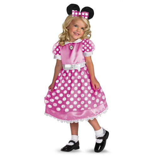 Mouse Kostüm Minnie Clubhouse - Minnie Mouse Clubhouse - Pink Costume - Child 4-6X (japan import)