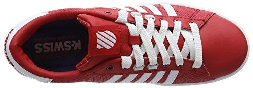 K-Swiss HOKE EQ CMF, Sneakers basses homme Rouge - Rot (FRMLAONE/WHT/DRKGUM 644)