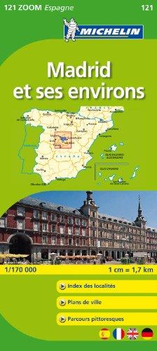 MADRID ENV . 11121 CARTE ZOOM MICHELIN KAART (Michelin kaart - Zoom (121))